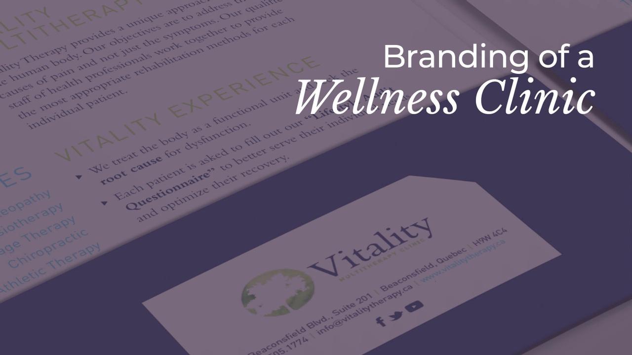 Branding of a Wellness Clinic - Case Study - Portfolio