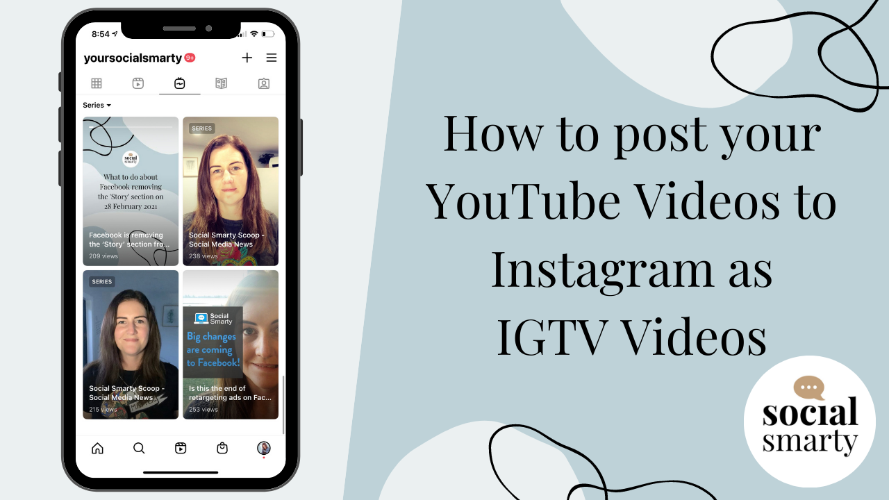 How to post your YouTube Videos to Instagram as IGTV Videos