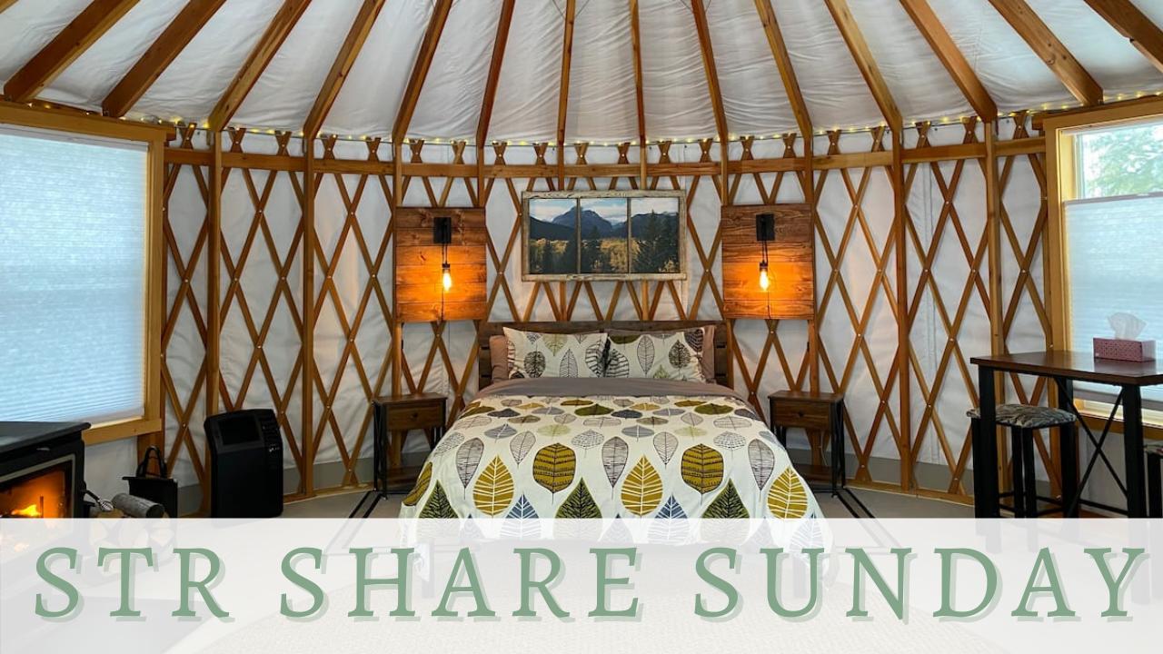 Strsharesunday Camp Caribou Yurt