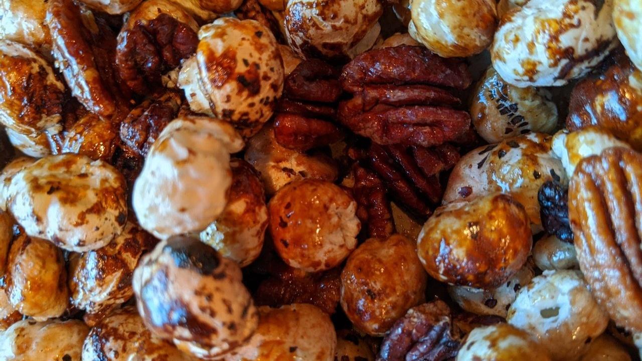 Puffed Lotus Seeds Dessert Recipe