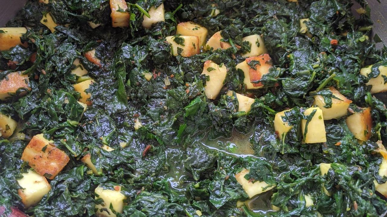Spinach Paneer Recipe