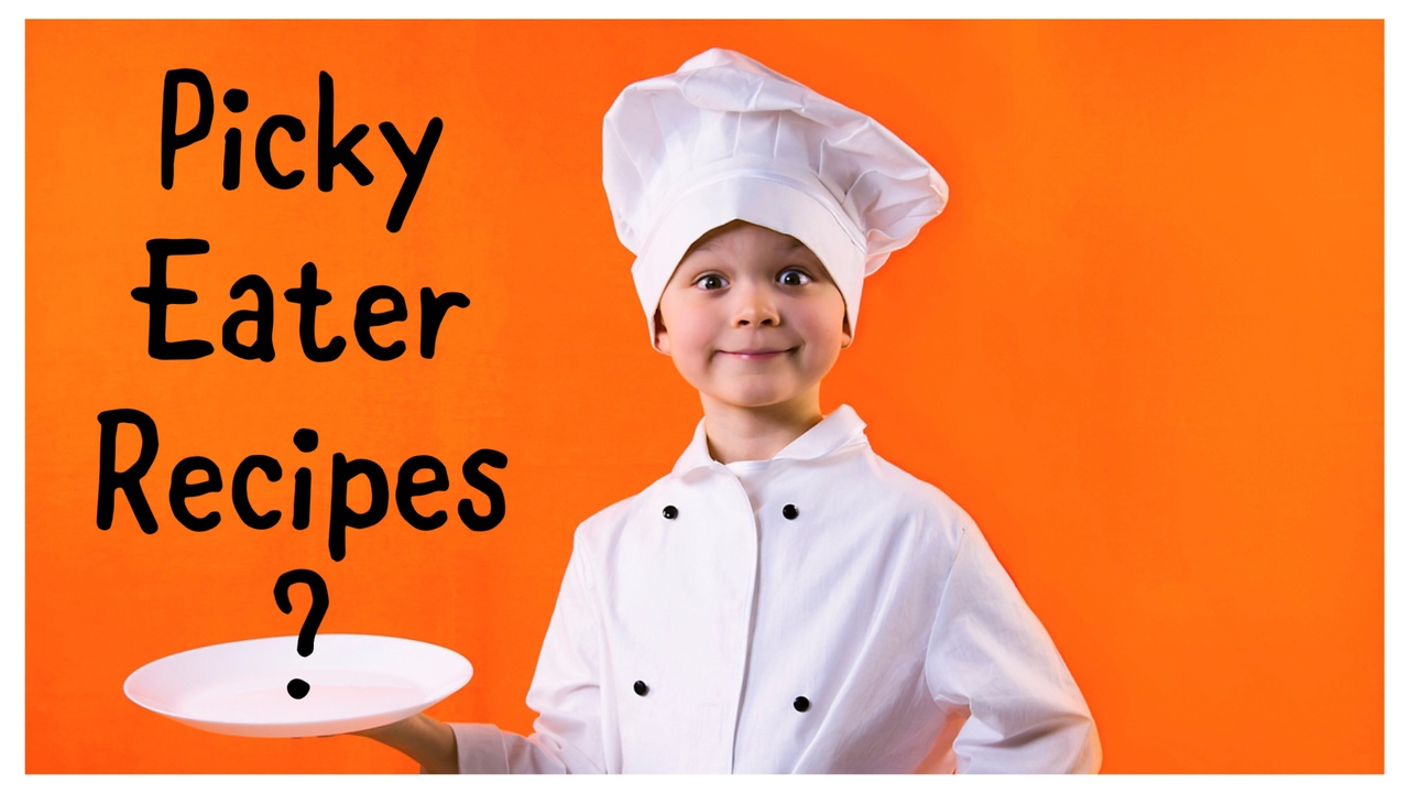 picky eater boy with chef outfit
