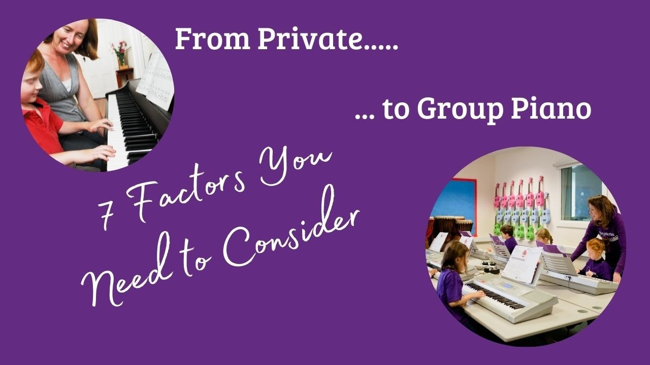 Private to Group Piano