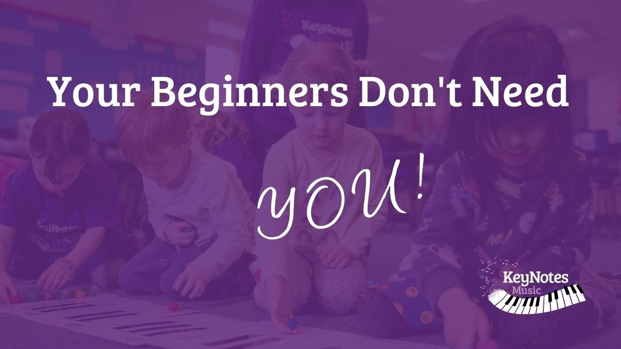 Group piano for beginners
