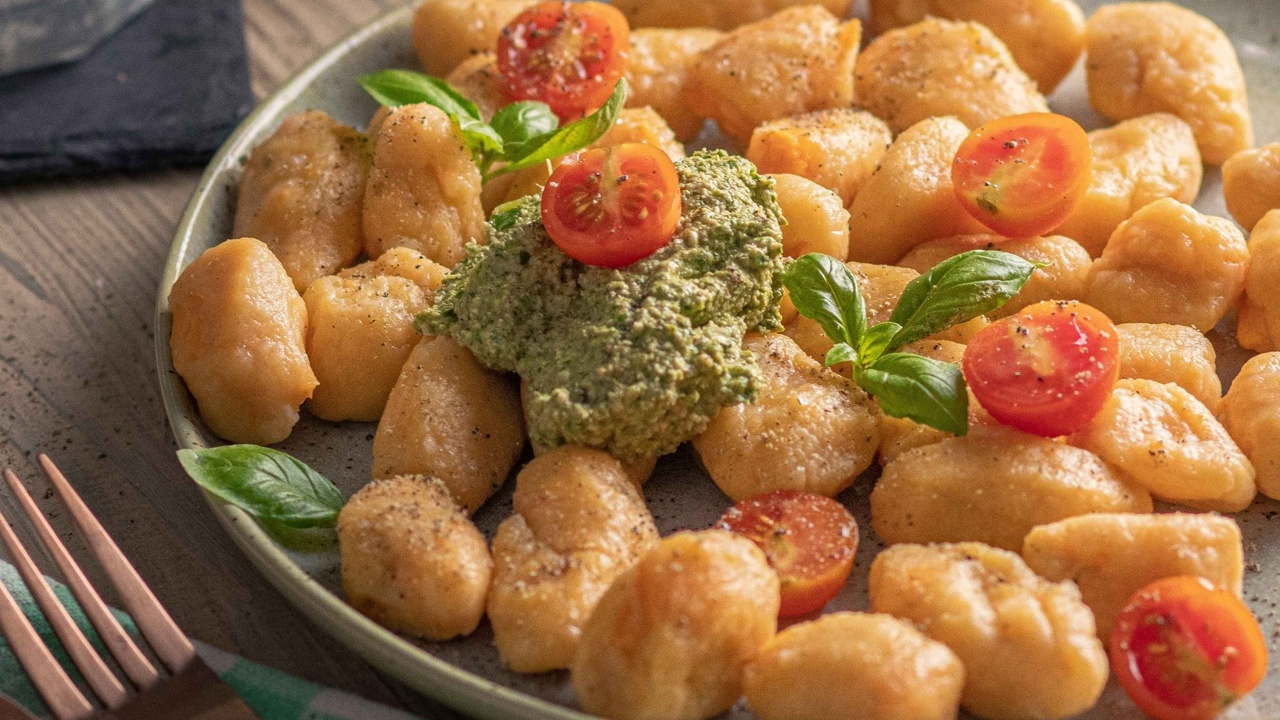 vegan sweet potato gnocchi recipe
