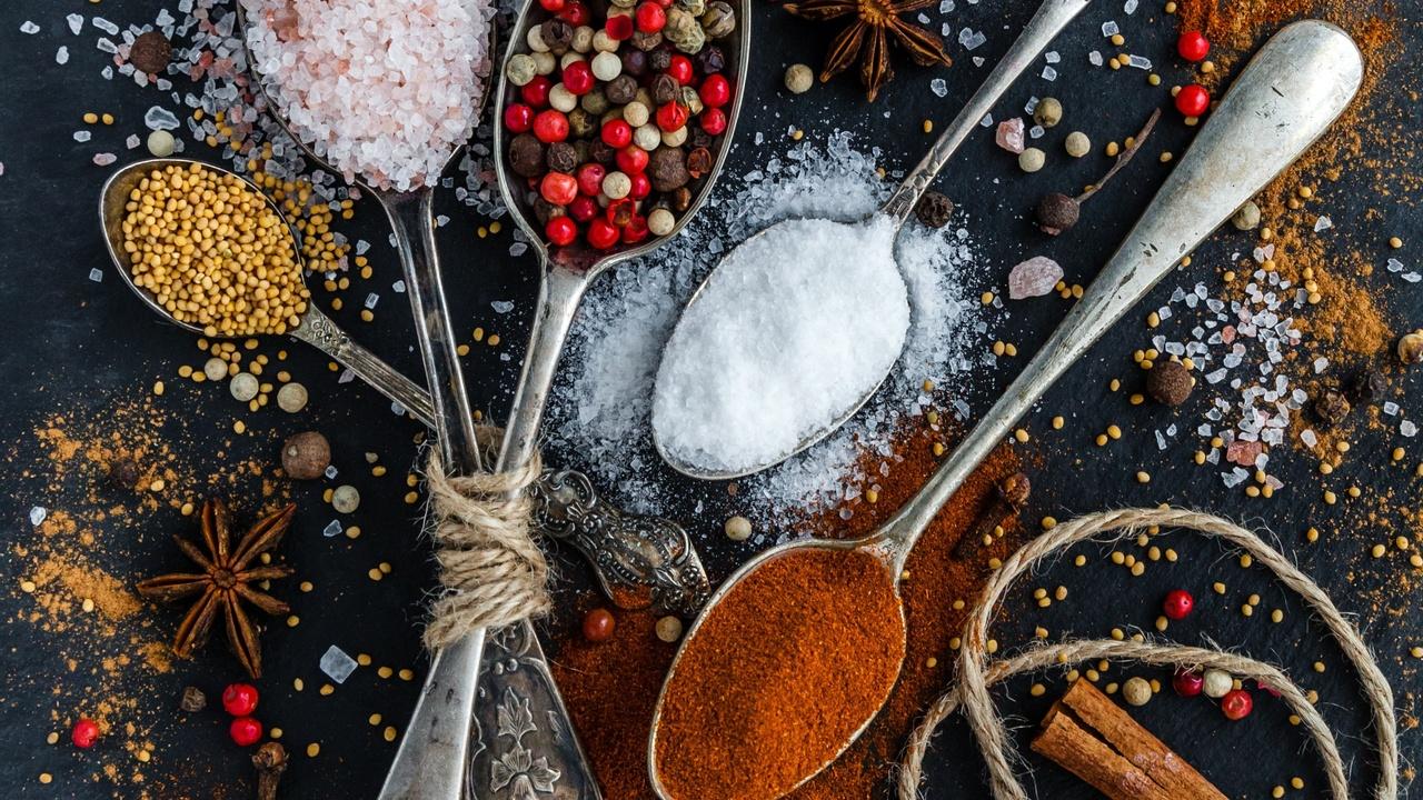 an array of vegan seasonings