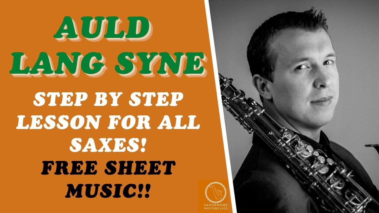 Auld Lang Syne On Sheet Music