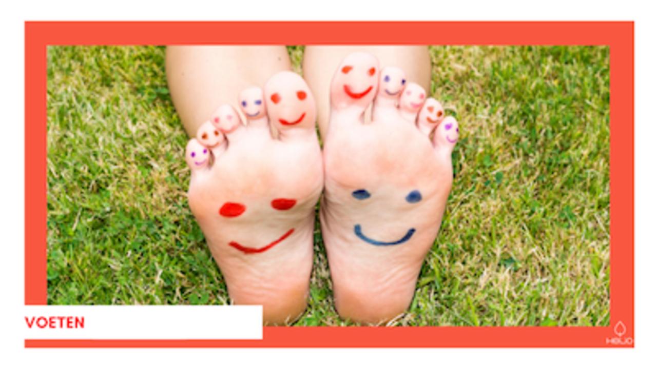 etherische olie voor voeten