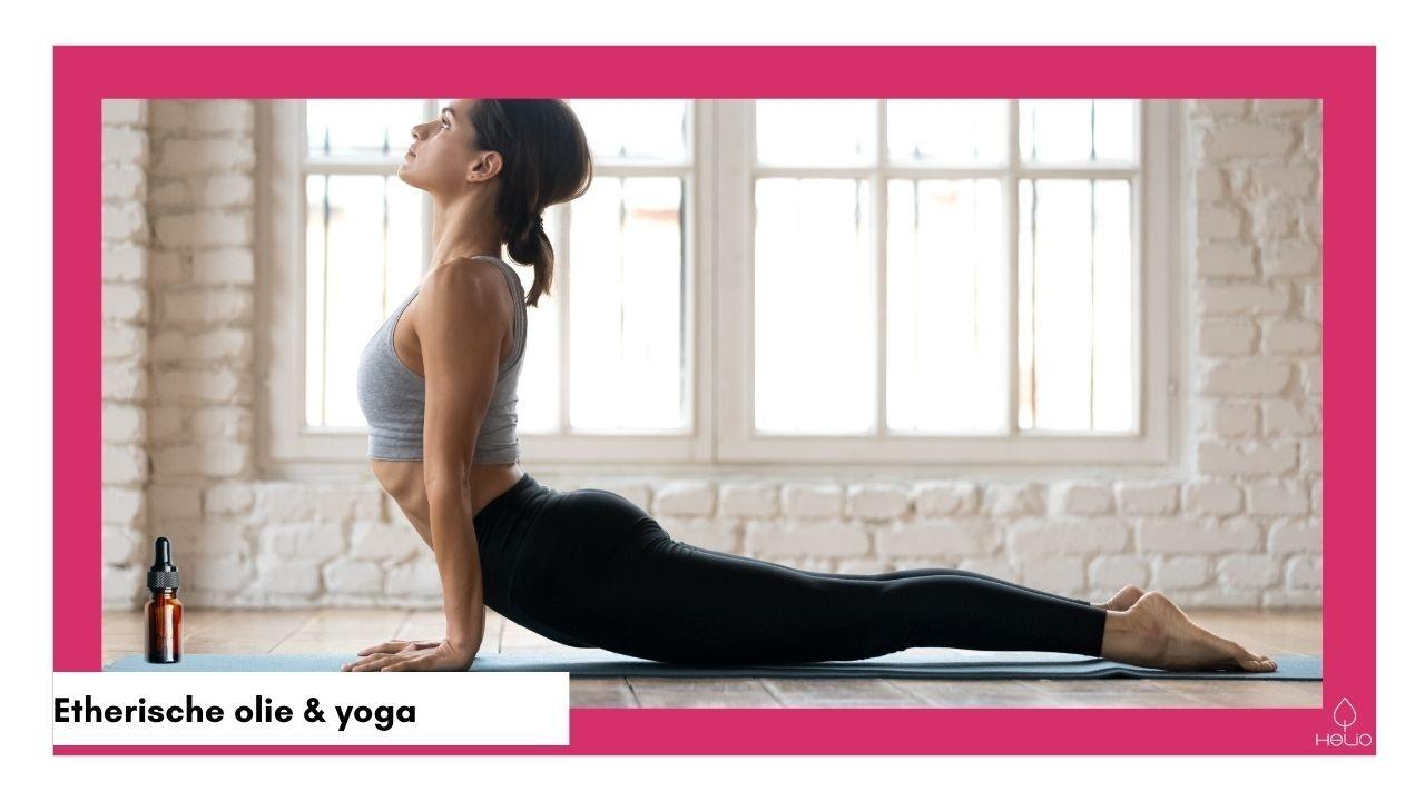 etherische olie bij yoga