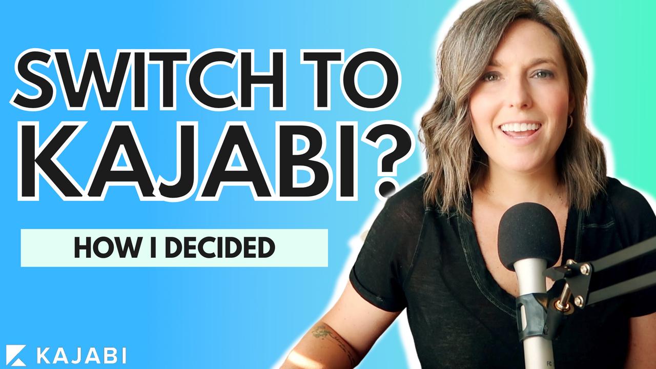 should you switch to Kajabi? Brooke Roberts Brazenist