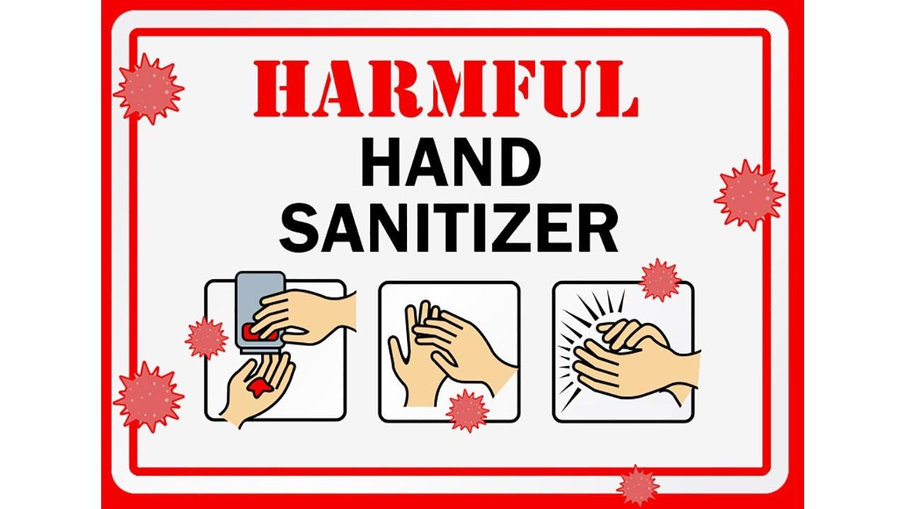 Harmful Hand Sanitizers