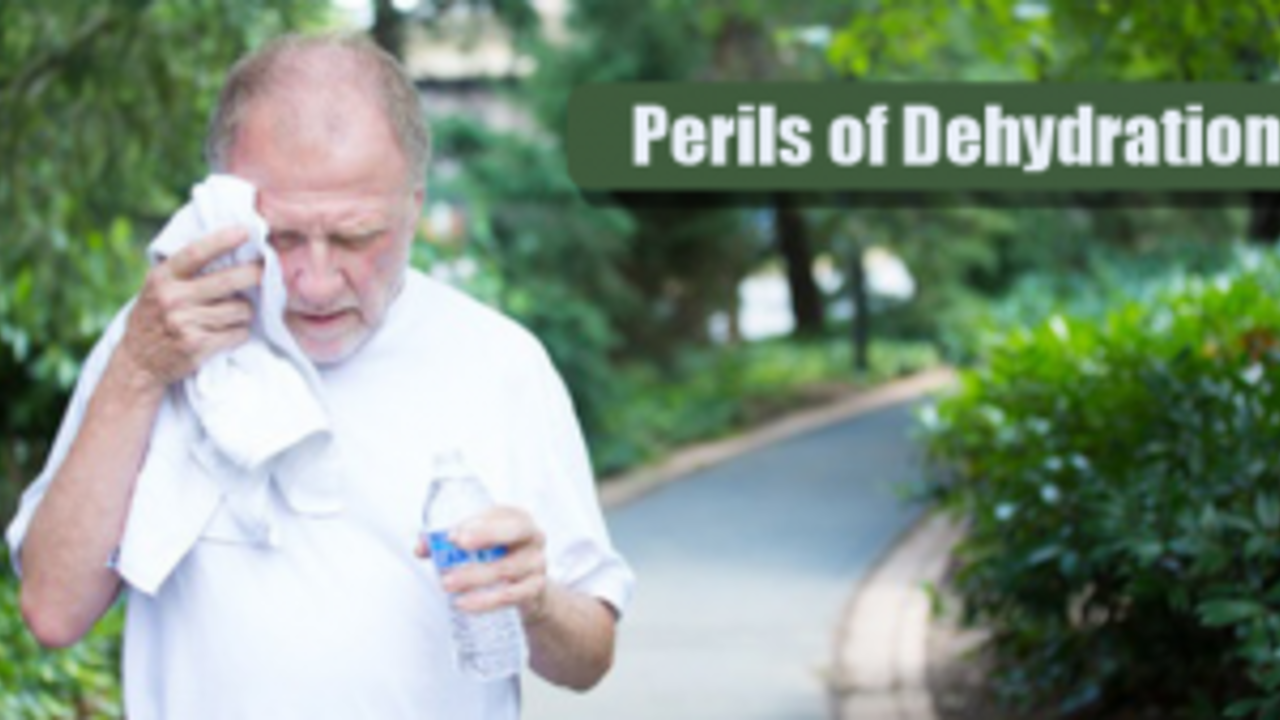 Water Energy and the Perils of Dehydration