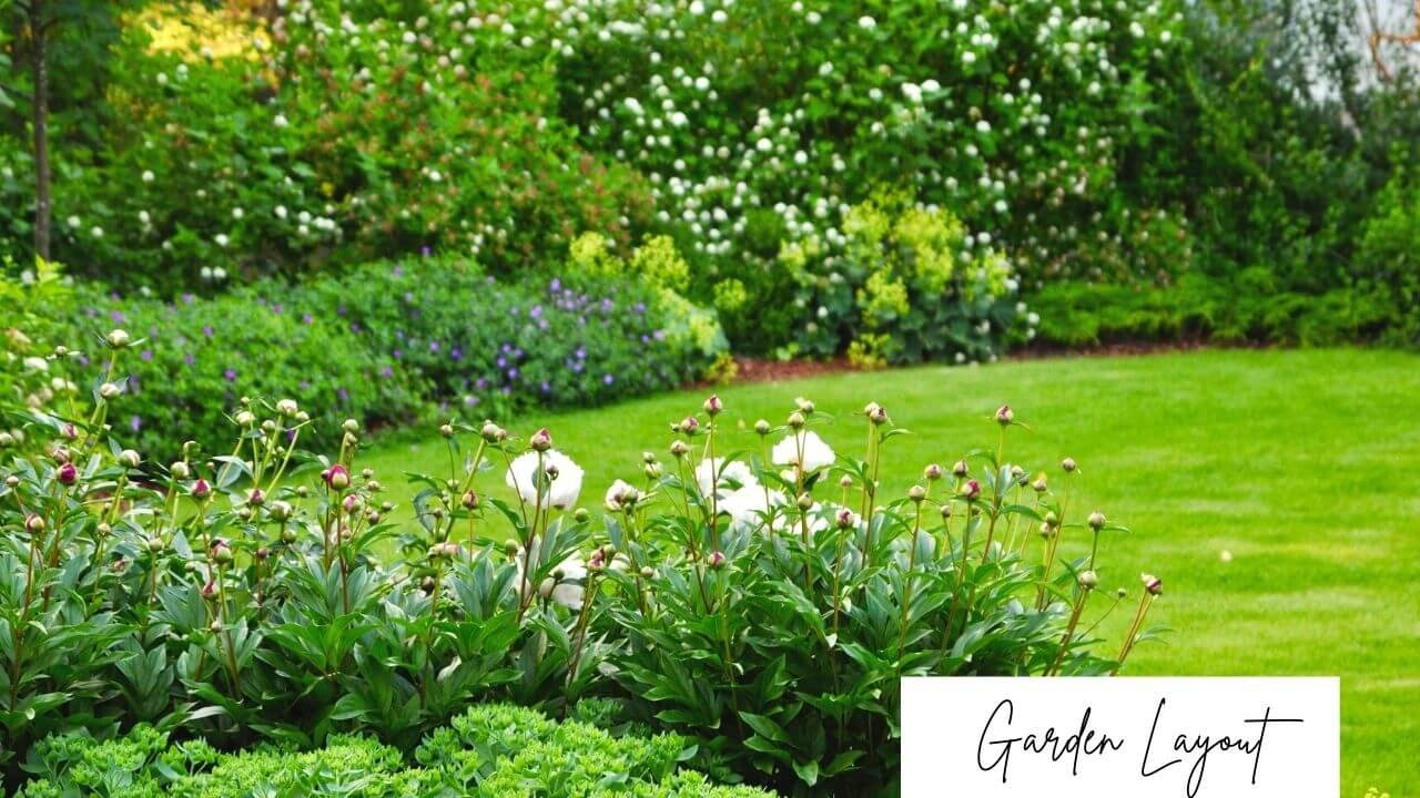 Starting a Garden: Designing a garden layout with intention is essential for a great garden view.