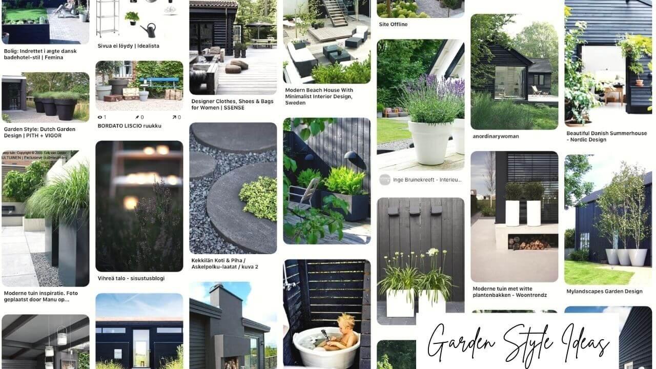 Ideas for Modern Danish-Scandinavian Home Garden Style