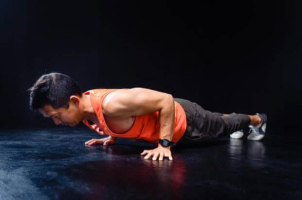 functional training push-up