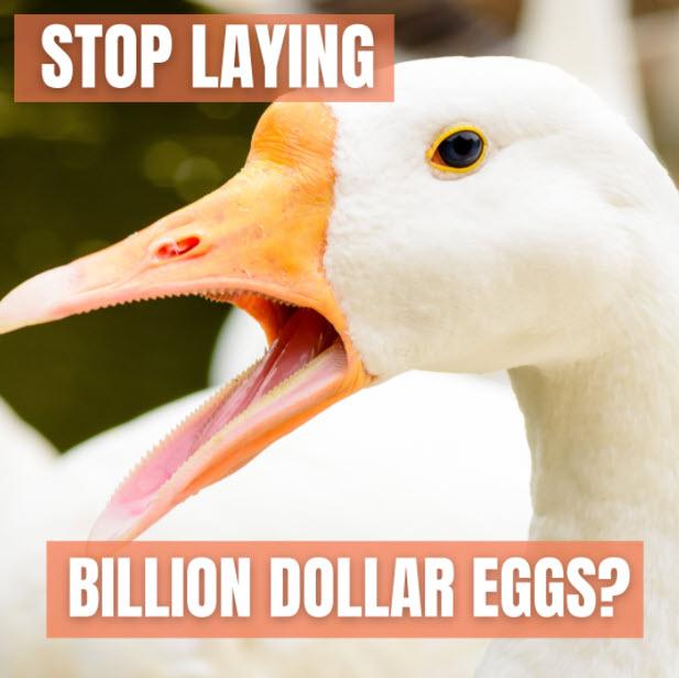 Goose golden egg meme