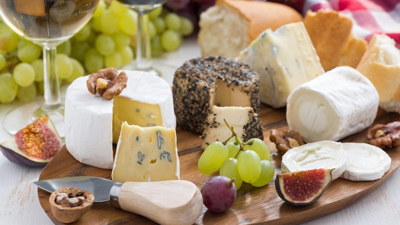 holiday cheese tray