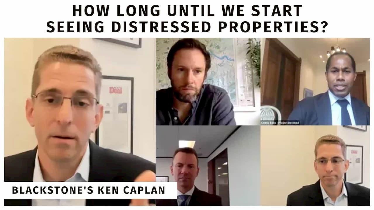 Ken Caplan, Blackstone Real Estate