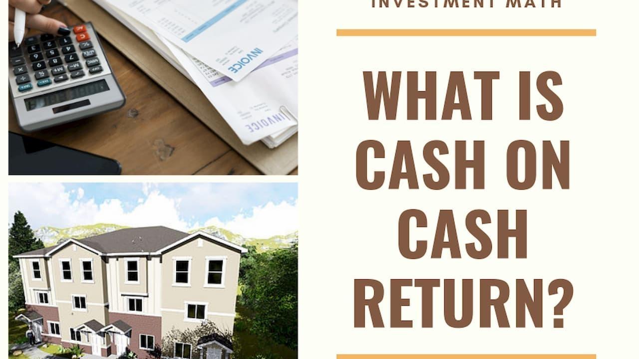 Cash on Cash Return Equation