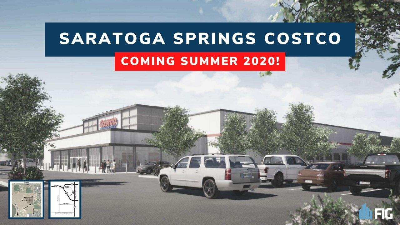 Rendering of Saratoga Springs Costco