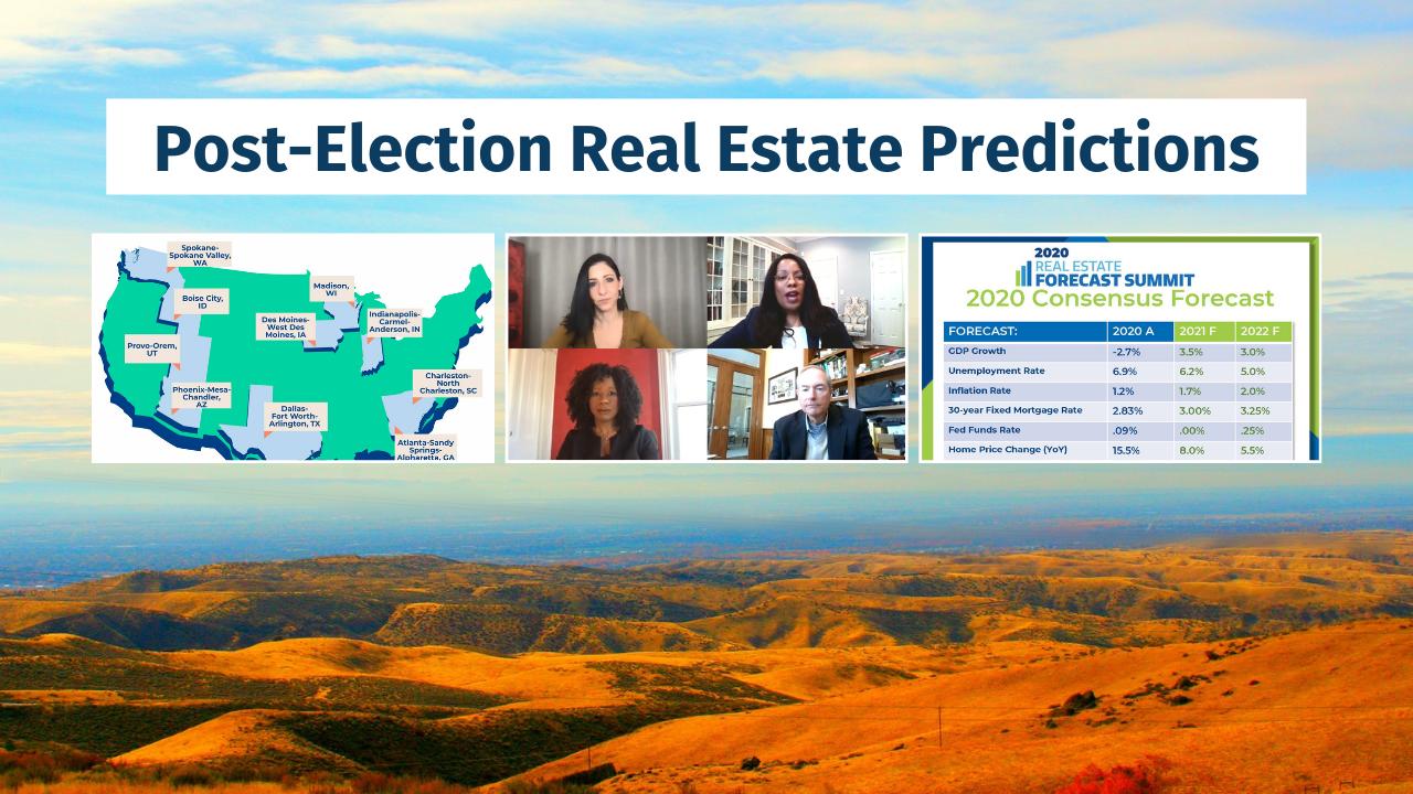 Boise, Idaho Real Estate predictions