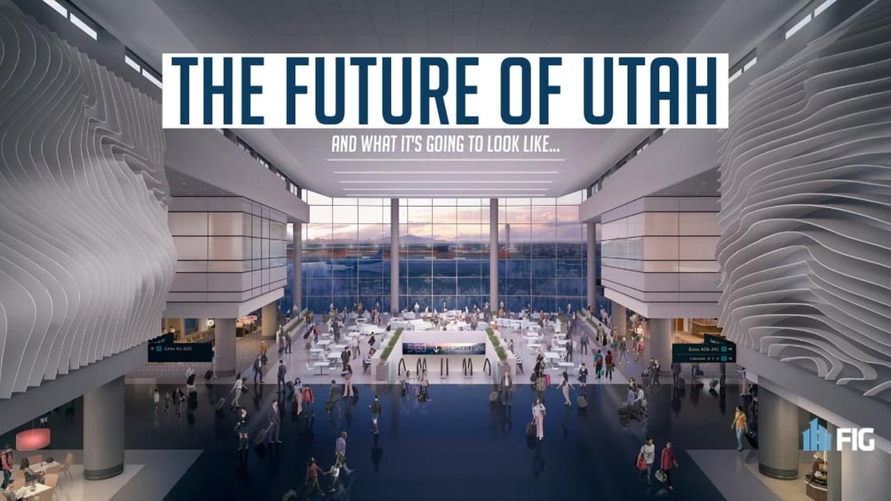 Rendering of the New Salt Lake City Airport