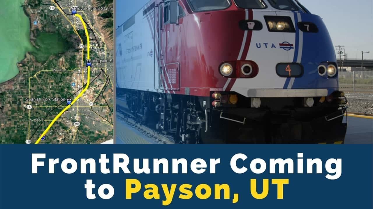 Utah's FrontRunner Train