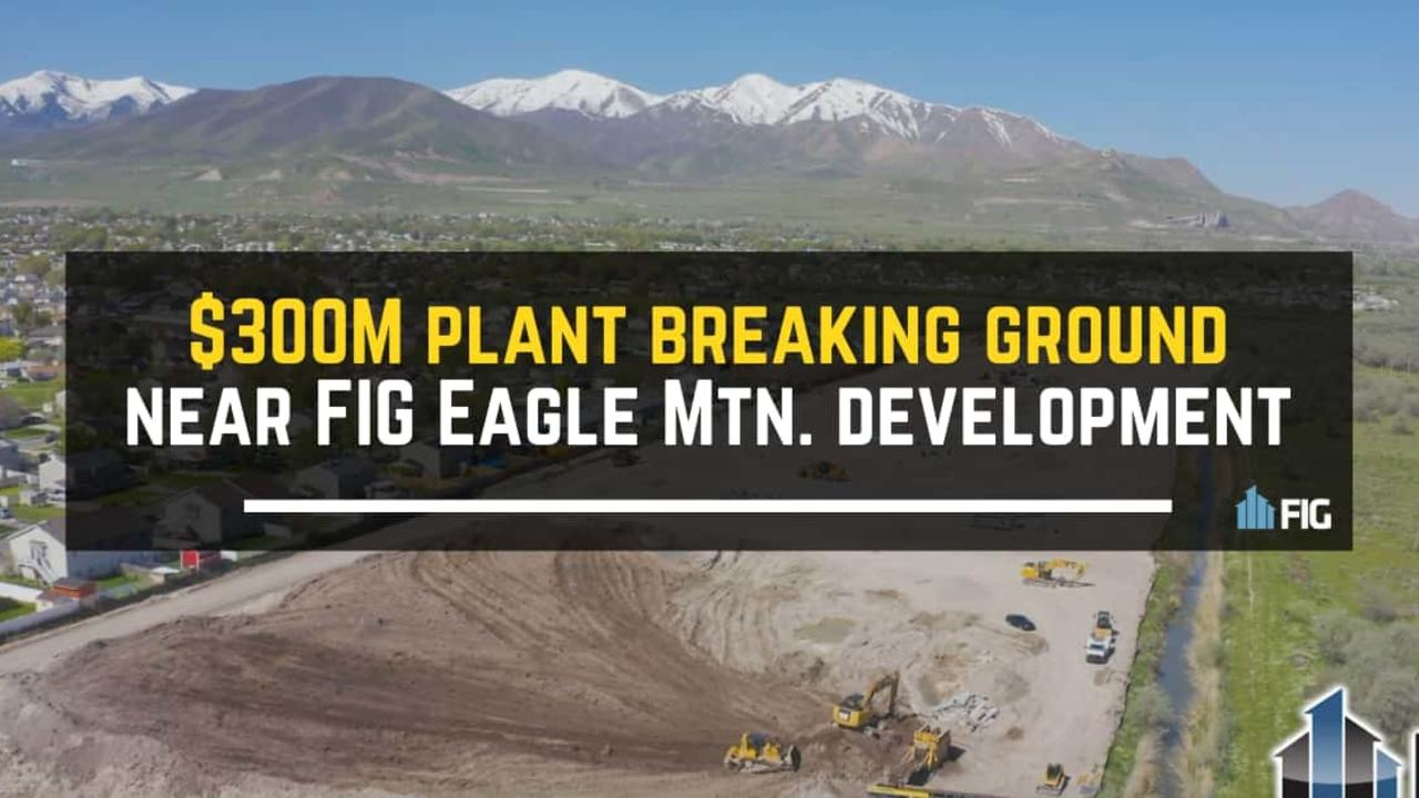 FIG multifamily Development in Eagle Mountain, Utah