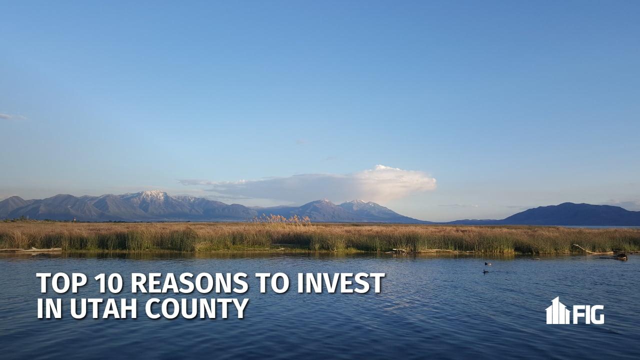 Utah County, Utah Lake