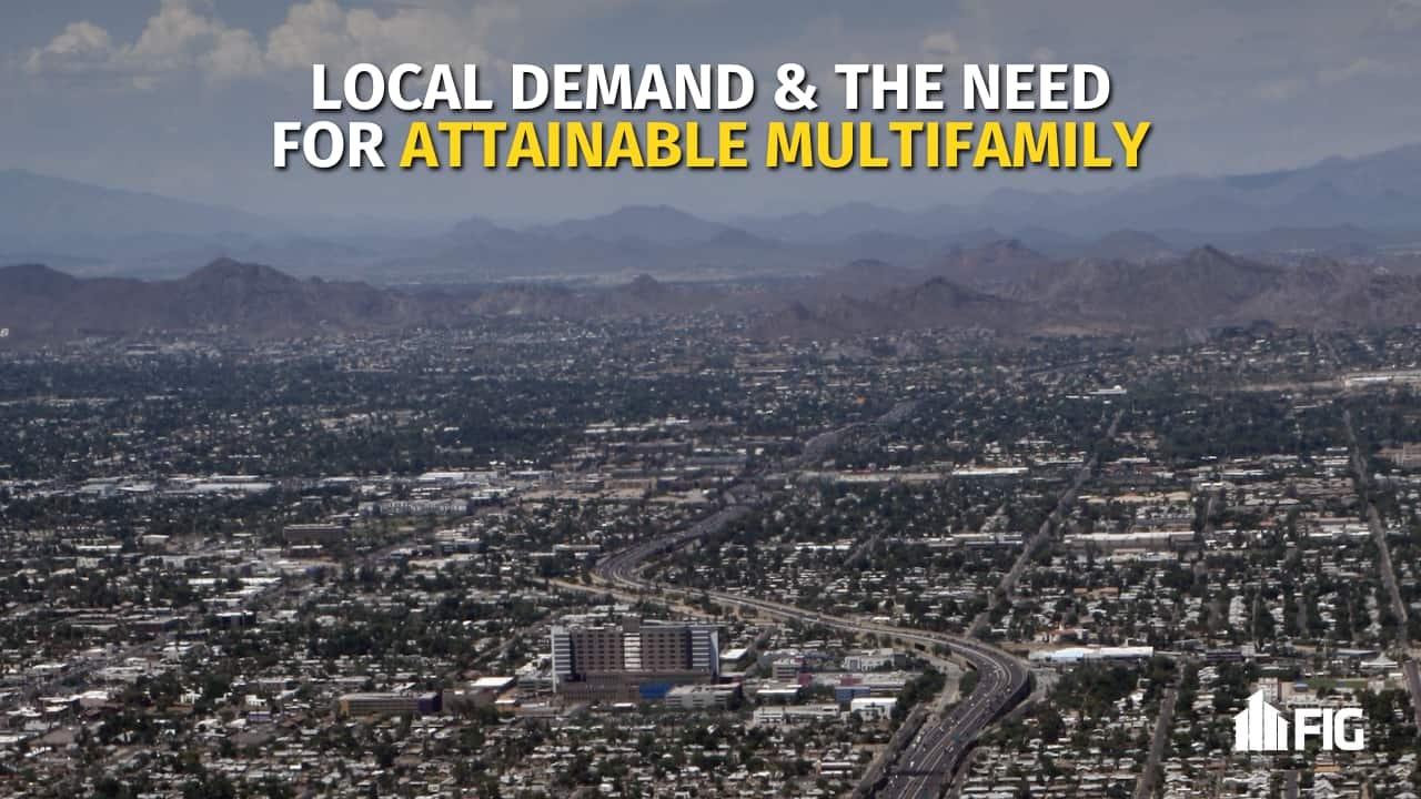 Phoenix Metro Aerial Shot