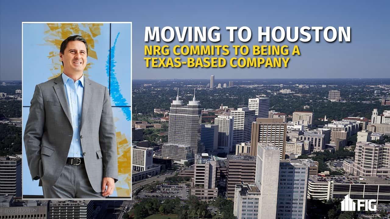 Houston Skyline and NRG Energy CEO