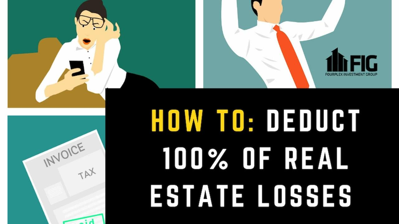 Tax Deductions via Real Estate Investing