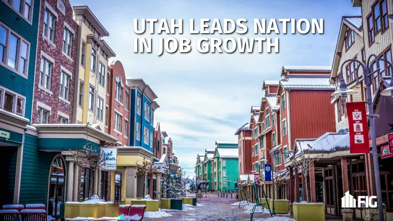 Utah Job Growth