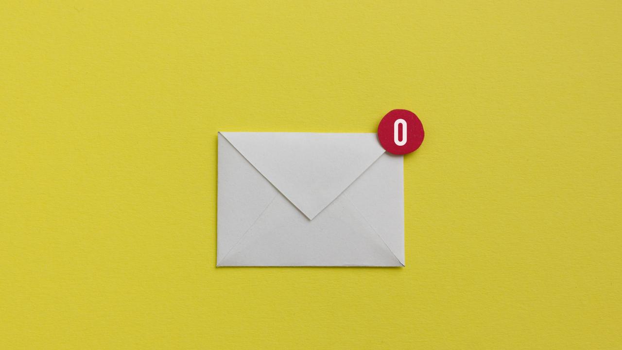 inbox zero email flut