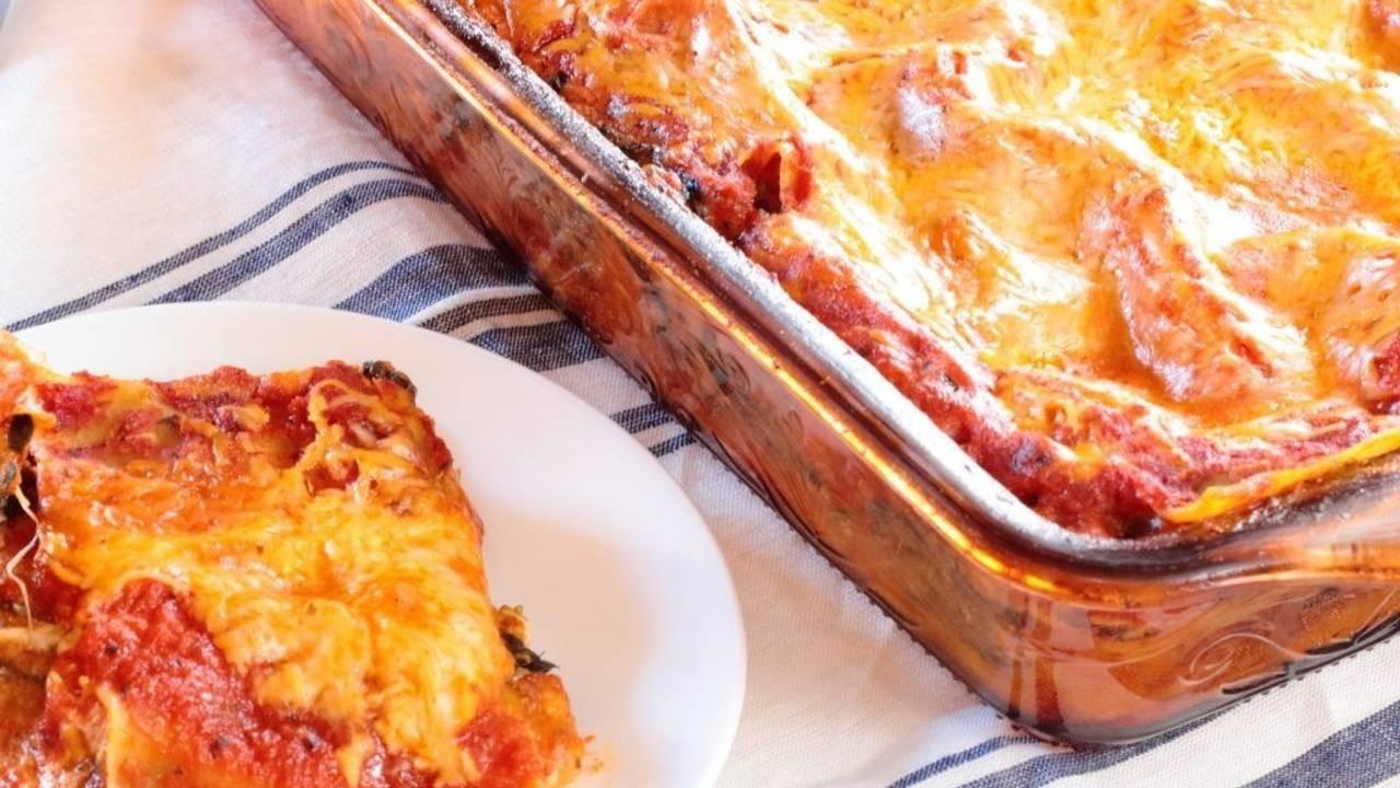 The Bomb Dot Com Vegetable Lasagna Recipe