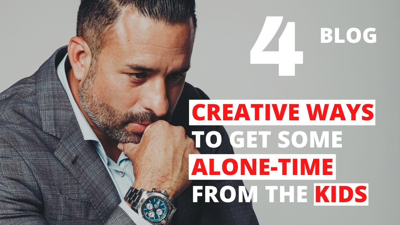 4 Creative Ways to Get Some Alone-Time from the Kids