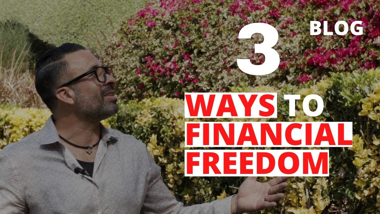 How to achieve financial freedom?
