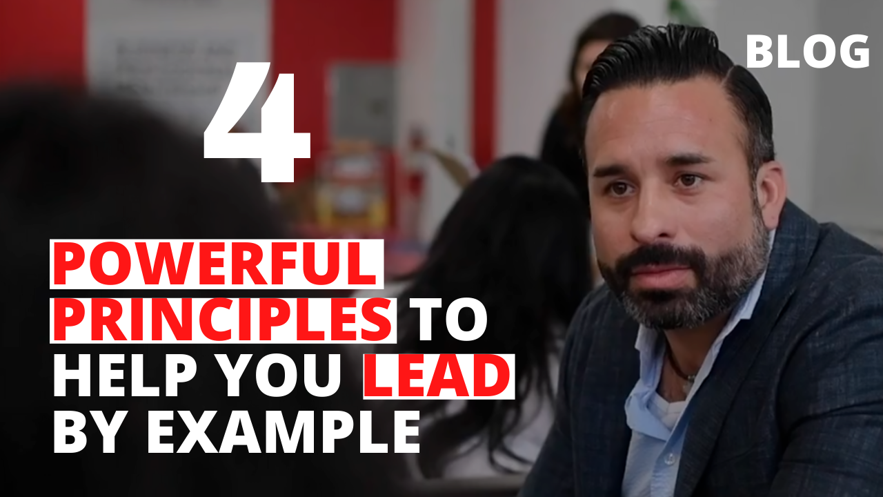 4 Powerful Principles to Help you Lead Richard Martinez