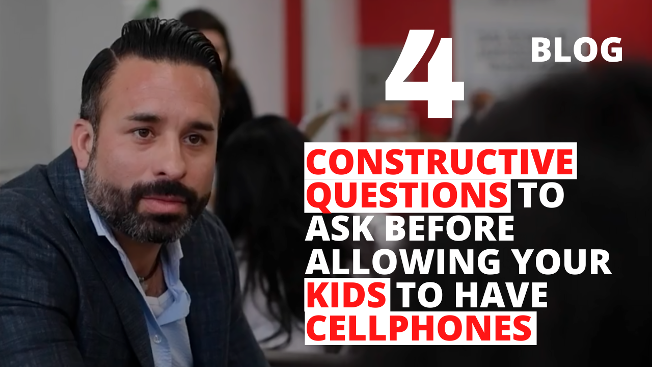 4 Constructive Questions to Ask Before Allowing your Kids to Have Cellphones