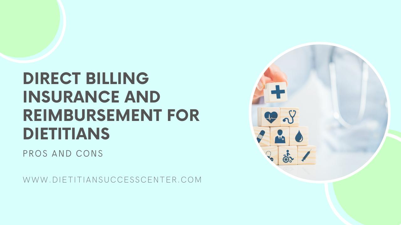 direct billing insurance and reimbursement for dietitians