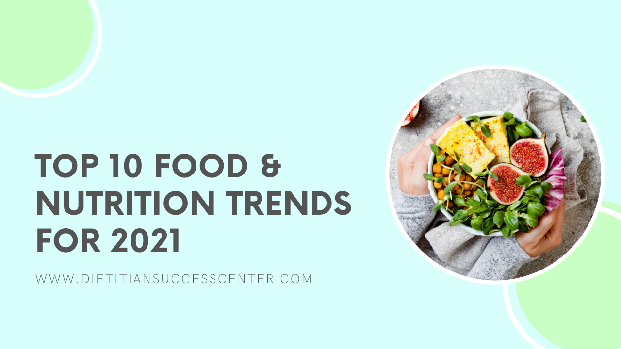 2021 food and nutrition trends