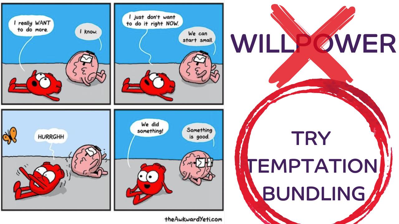 temptation bundling in menopause