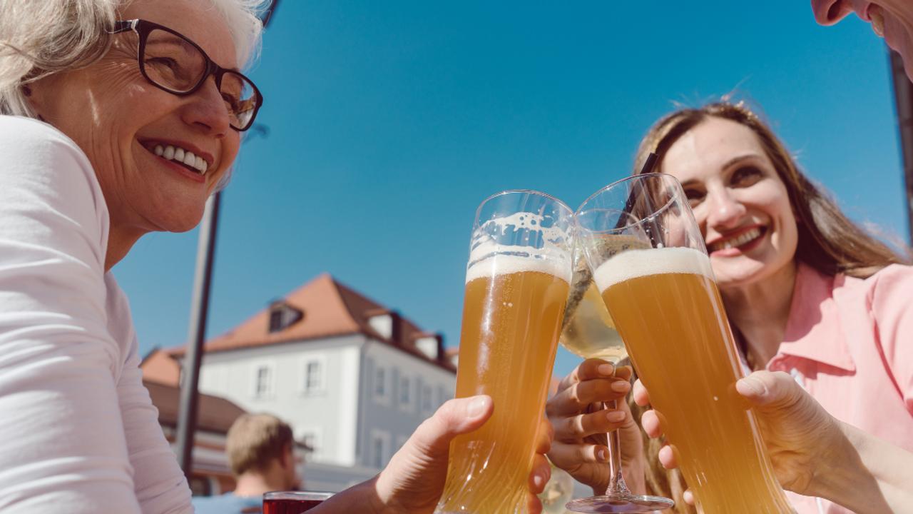 beer and  menopause