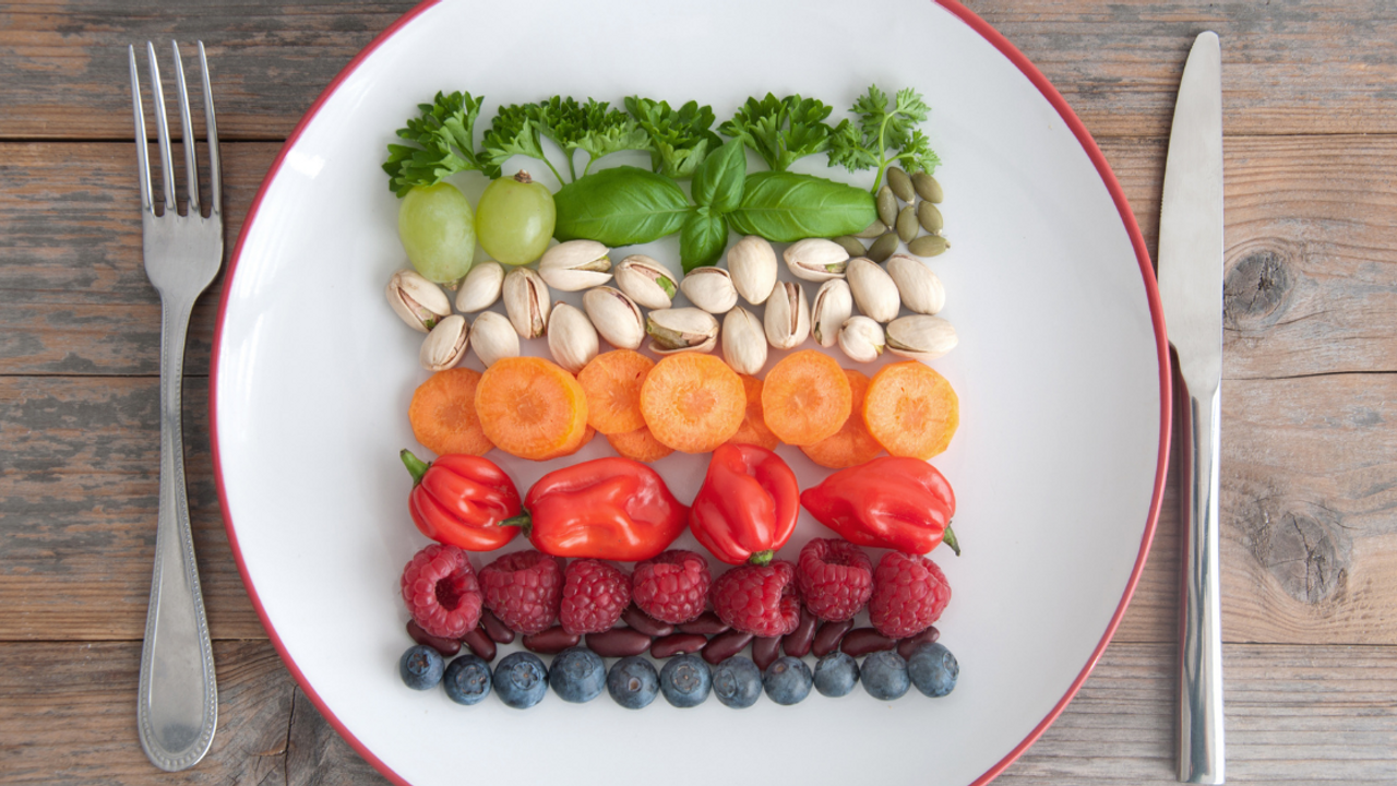 menopause diet, rainbow diet