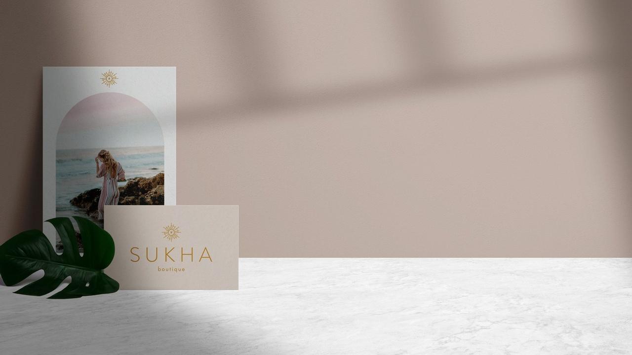 Branding y Diseño Web Sukha Boutique
