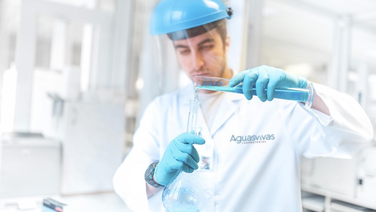 Branding y Web Laboratorio Aguas Vivas