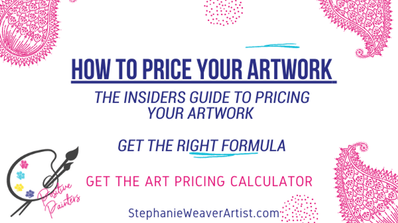 How to price your artwork - the Art Pricing Calculator