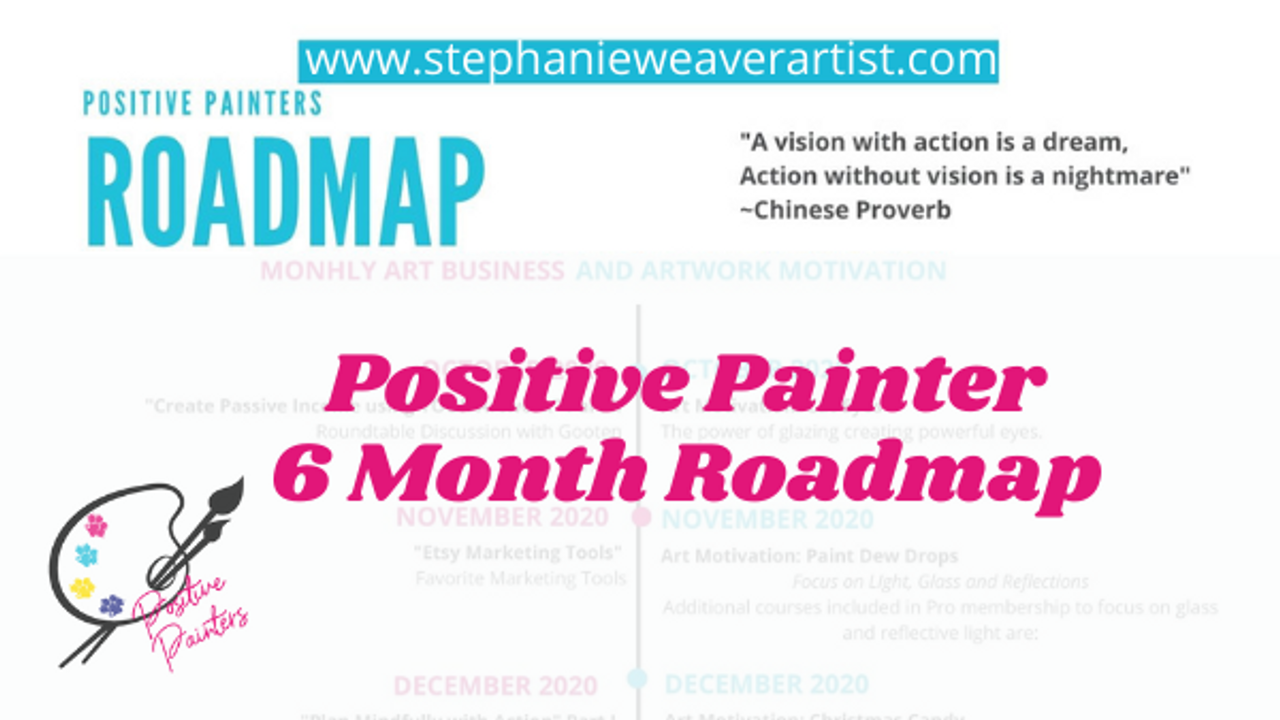 6 Month Art Roadmap for the Results Oriented Artist