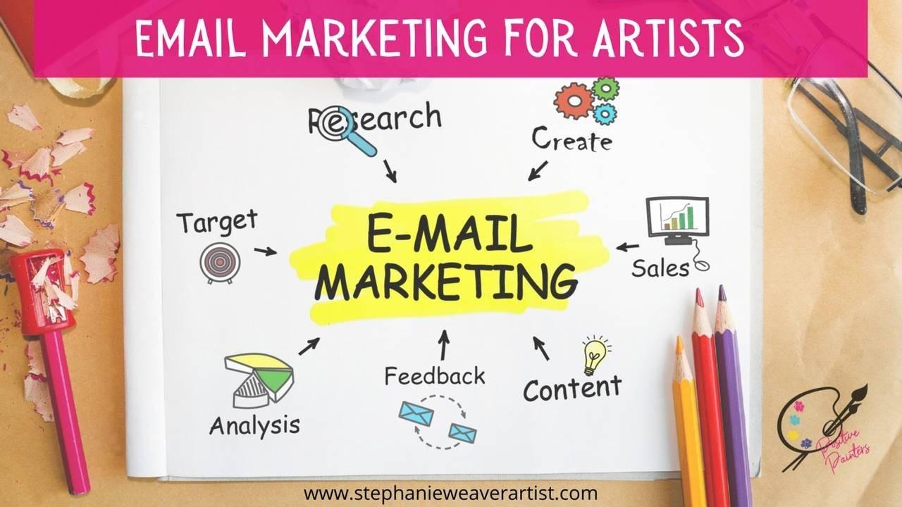 Easy Email Marketing For Artists | Stephanie Weaver Artist