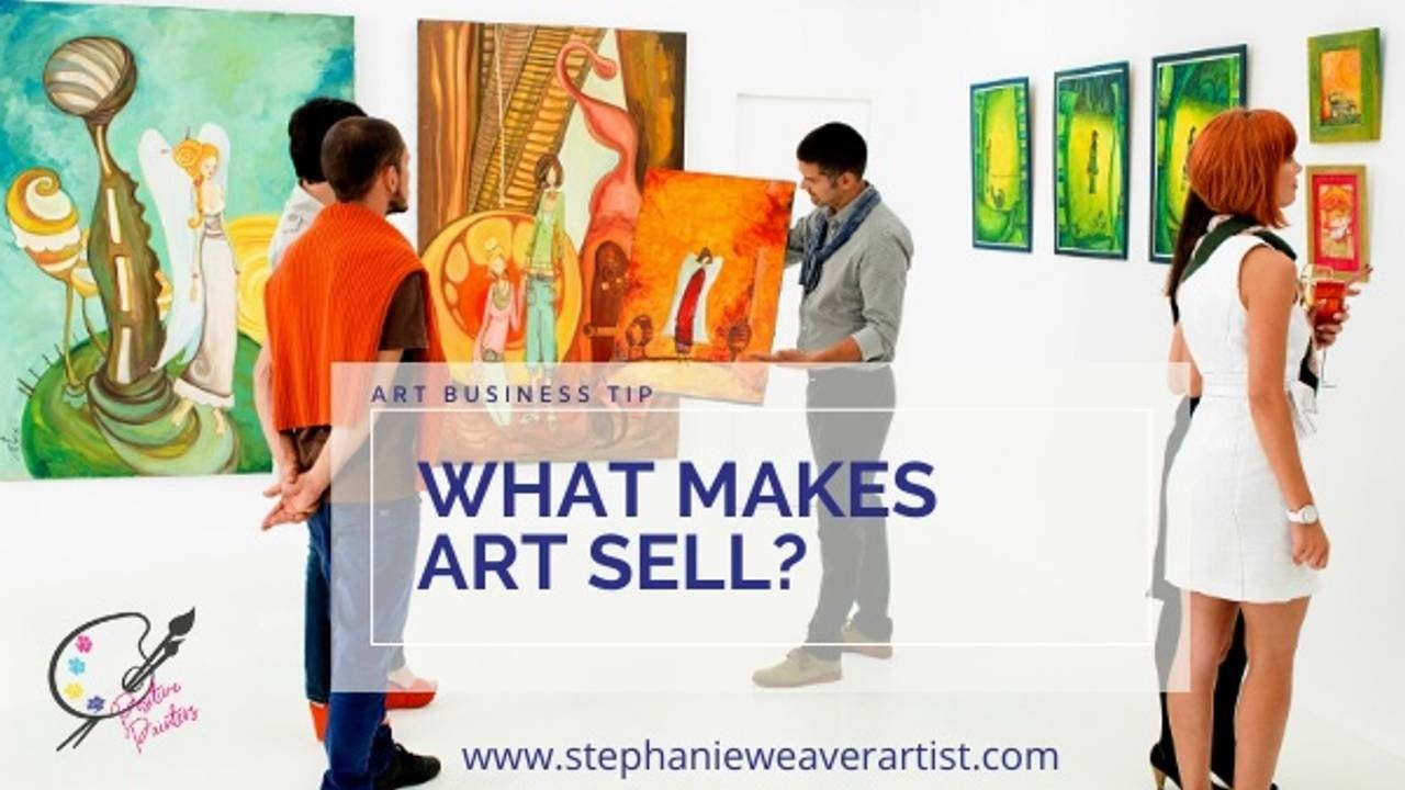what makes art sell